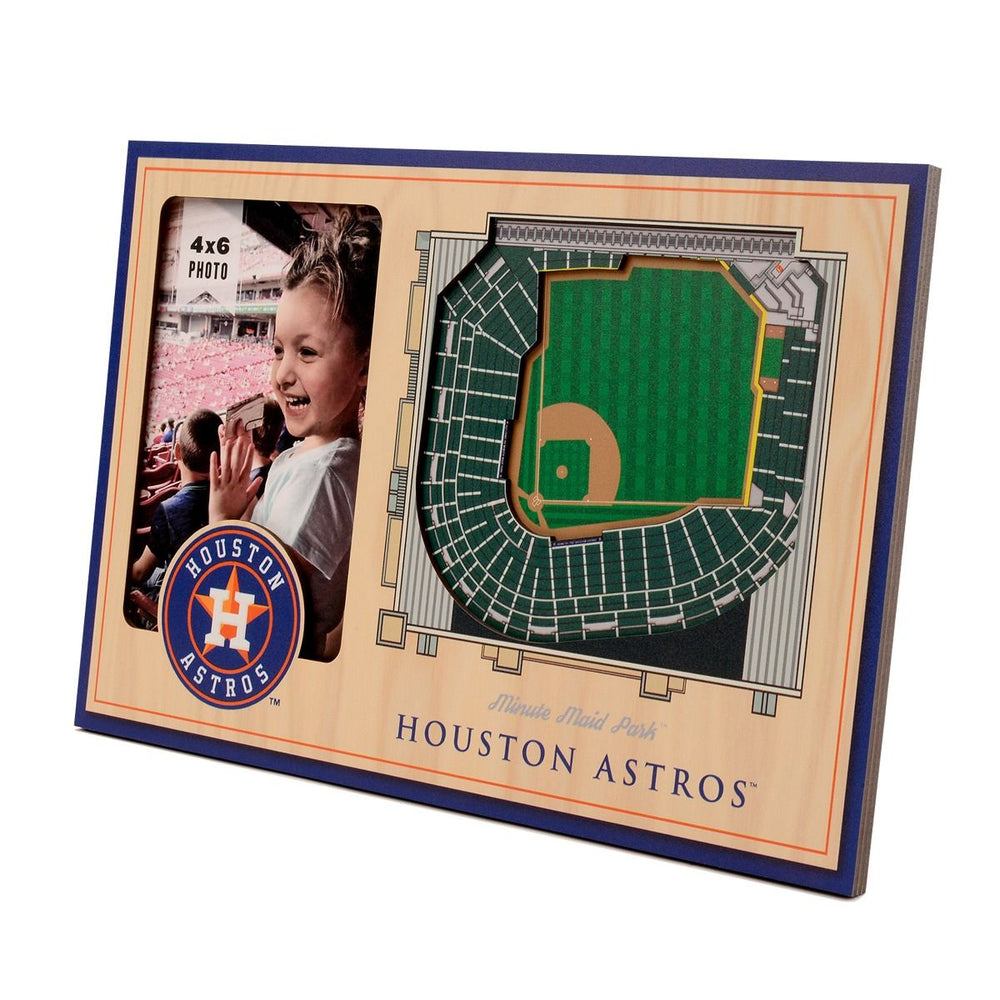 Houston Astros 3D Stadium Photo Frame