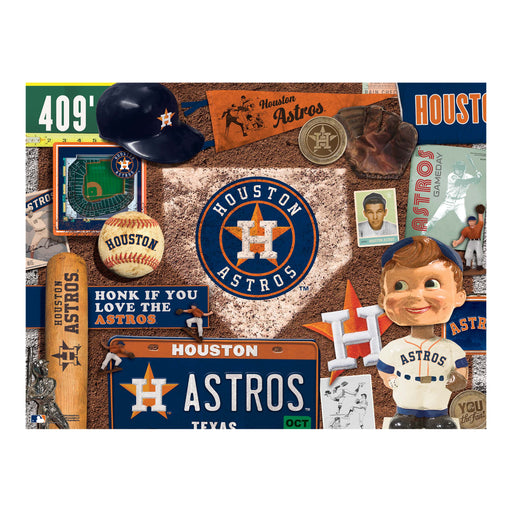 Houston Astros Retro Puzzle