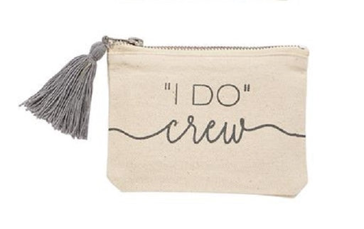 I Do Crew Canvas Pouch