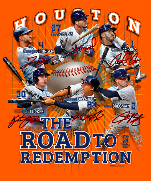 Houston Astros Redemption Tee Shirt