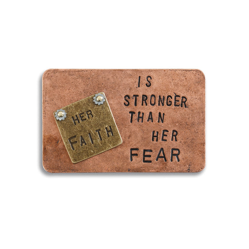 Her Faith is Stronger Inspire Card