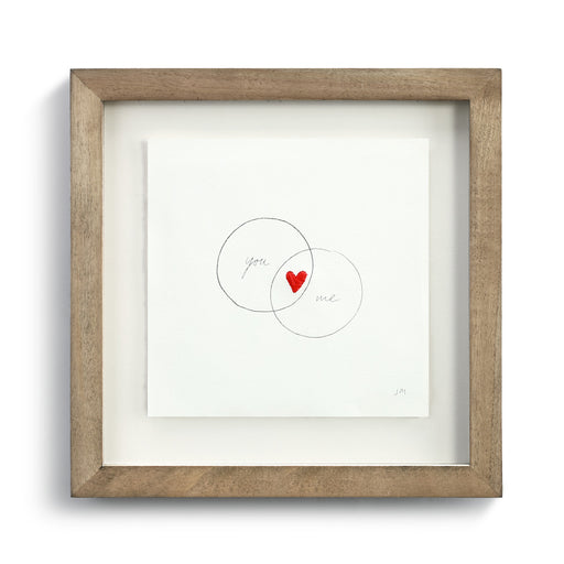 You & Me Circles Wall Art