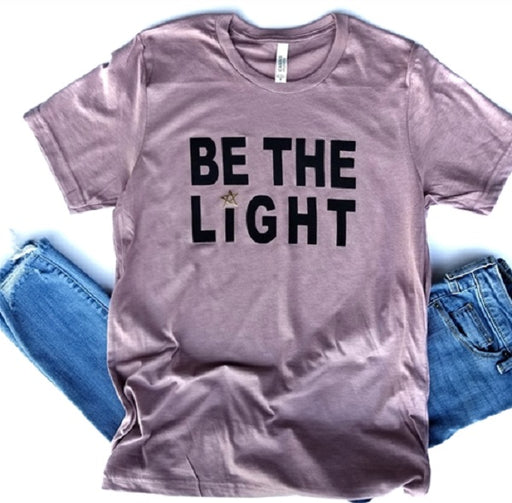 Be the Light Vintage Boyfriend Tee