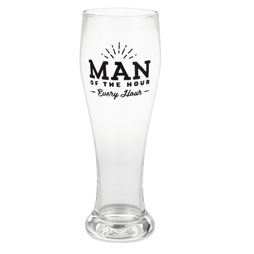 Man of the Hour Pilsner Glass
