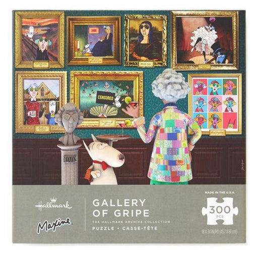 Gallery of Gripe Maxine  300 Piece Puzzle