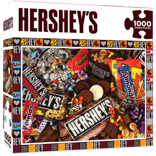Hershey's Mayhem Chocolate Collage 1000 Piece Jigsaw Puzzle