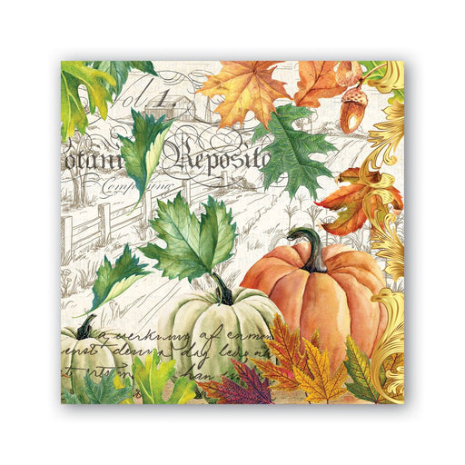 Fall Harvest Cocktail Napkins