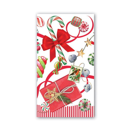 Peppermint Hostess Napkins