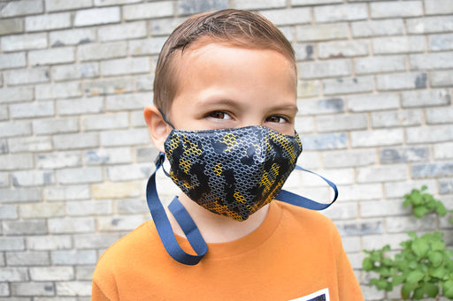 Solid Color Kid & Tween Mask Lanyard With Safety Breakaway Clip