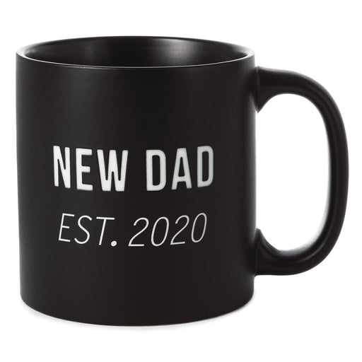 New Dad Established 2020 Mug