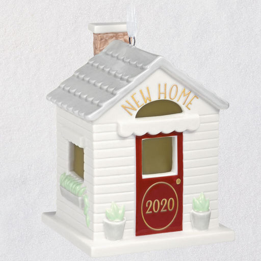 Welcome Home 2020 Porcelain Ornament