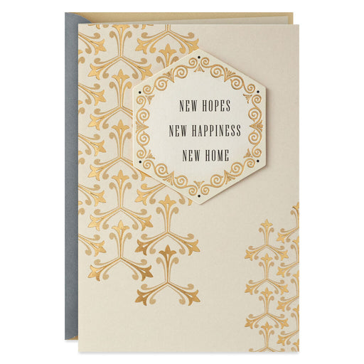 New Hopes New Home Congratulations Card