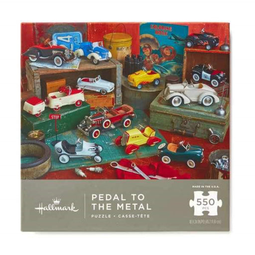 Pedal to the Metal Kiddie Cars - 550 Piece Puzzle