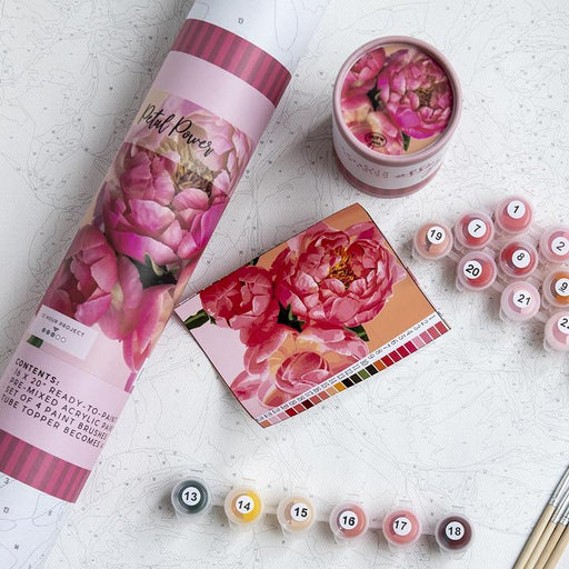 Petal Power Paint By Number