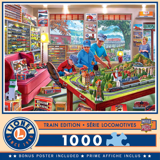 The Boy's Playroom 1000 Piece Jigsaw Puzzle