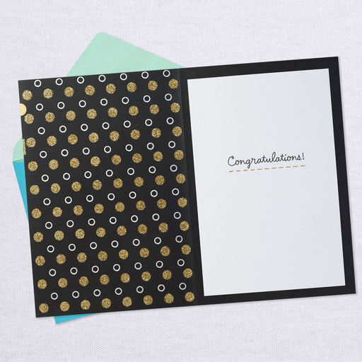 Pop the Cork Congratulations Card