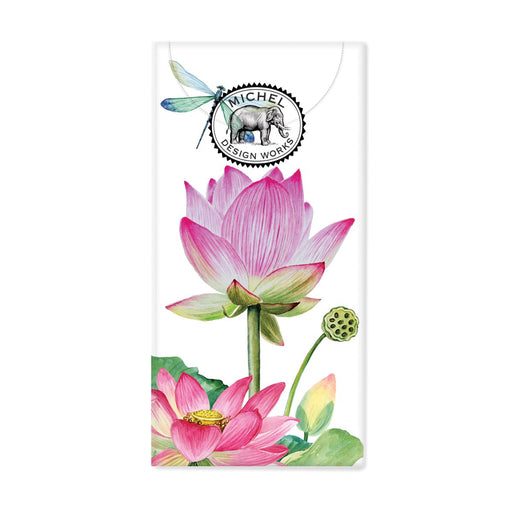 Water Lilies Pocket Tissues