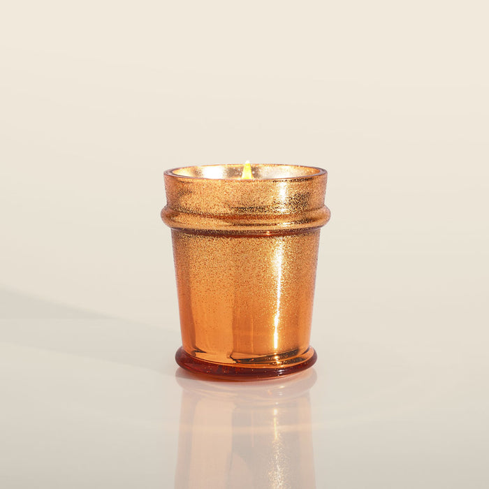 Pumpkin Dulce Glitz Found Glass Candle