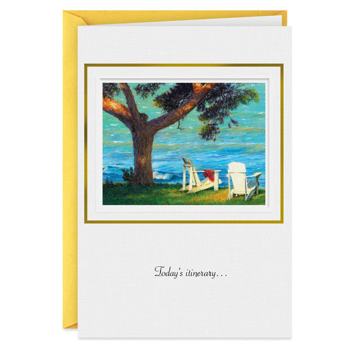 Ocean View Retirement Card
