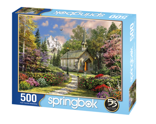 Mountain Chapel 500 Piece Jigsaw Puzzle