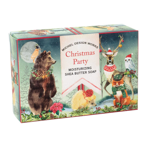 Christmas Party Boxed Single Soap