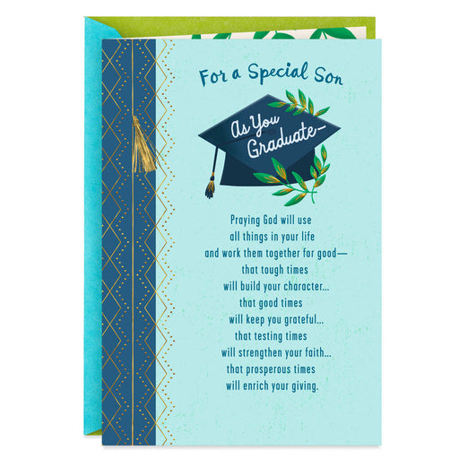 All You've Accomplished Religious Graduation Card for Son