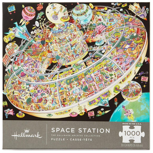 Space Station 1000 Piece Puzzle