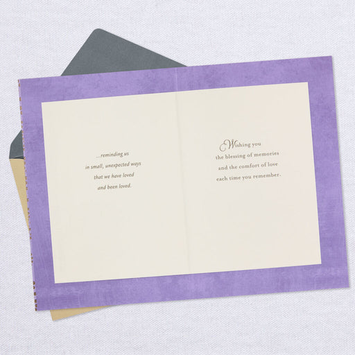 Good Memories and Sweet Stories Sympathy Card