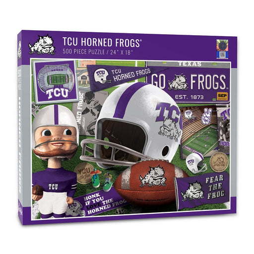 Texas Christian University Retro Puzzle