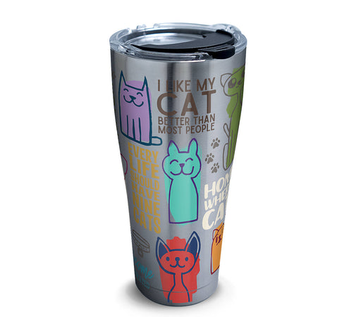Tervis Stainless Steel Cat Sayings