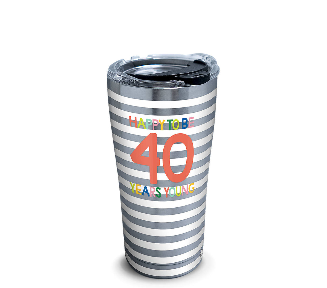 Stainless Tervis Happy Everything!™ - 40 Years Young Tumbler