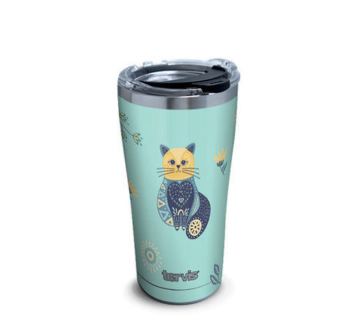 Tervis Stainless Steel Folkart Cat