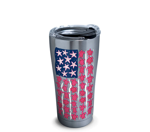 Stainless Tervis Simply Southern® - Turtle Flag Tumbler