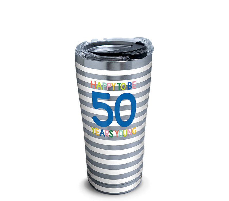 Stainless Tervis Happy Everything!™ - 50 Years Young Tumbler