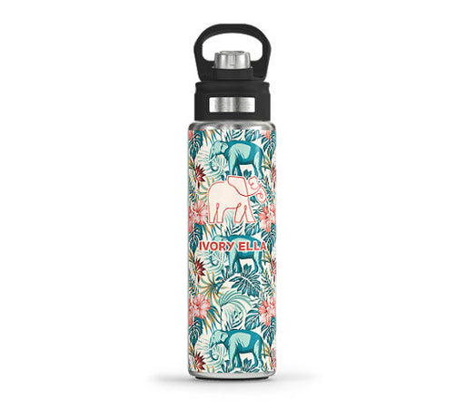Ivory Ella Safari Tervis Stainless Steel Wide Mouth Water Bottle