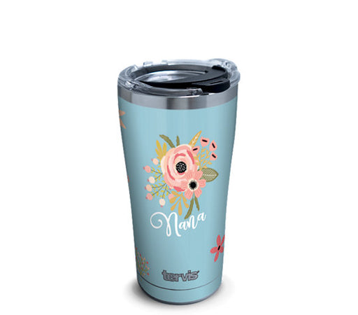 Tervis Stainless Steel Floral Nana