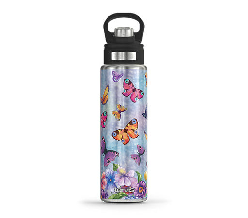 Butterfly Garden Tervis Stainless Steel Wide Mouth Water Bottle