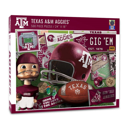Texas A&M Retro Puzzle
