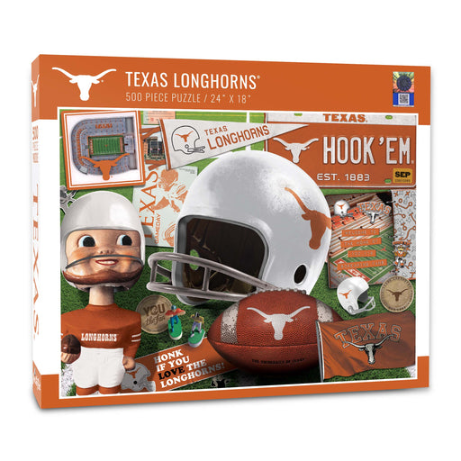 University of Texas Longhorns Retro Puzzle