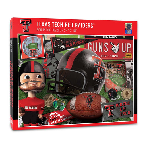 Texas Tech Retro Puzzle