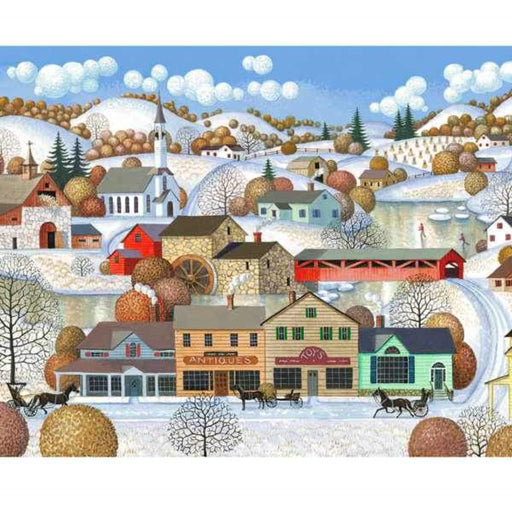 Winter Village  1000 Piece Puzzle