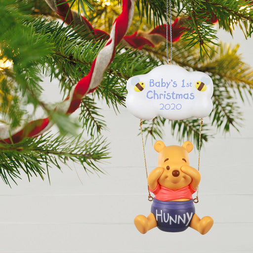 Disney Winnie the Pooh Baby's First Christmas 2020 Ornament