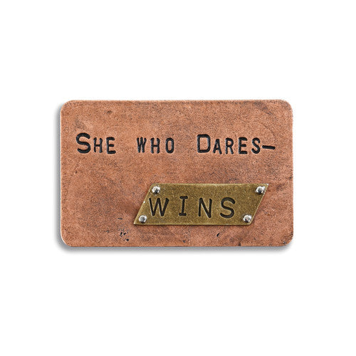 She Who Dares Inspire Card