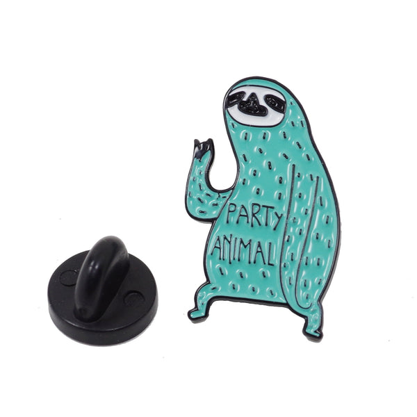 Party Animal Green Slot Enamel Pin With Gift Box