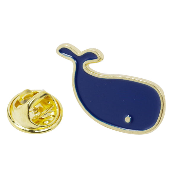 Little Blue Dolphin Enamel Pin With Gift Box