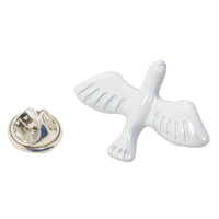 White Pigeon Animal Pin With Gift Box
