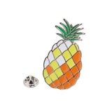 Pineapple Enamel Pin With Gift Box 50mm x 27mm