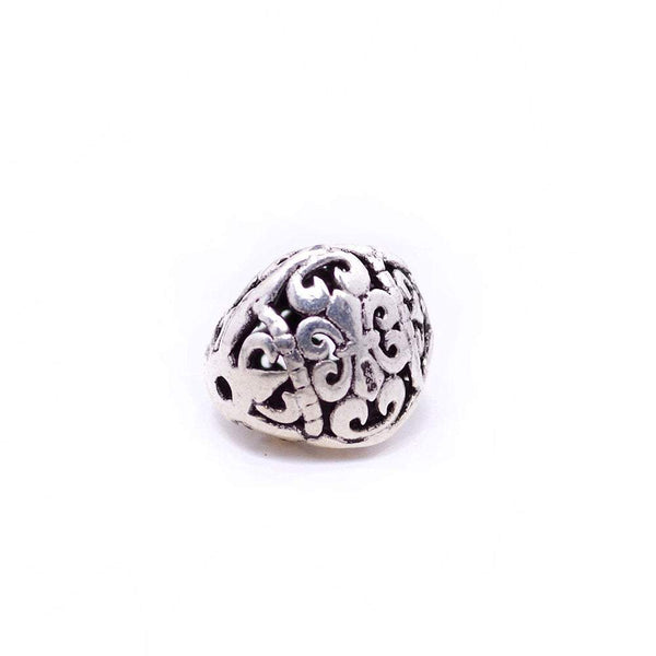 Vintage 925 Sterling Silver Spacer Bead for Jewelry Making