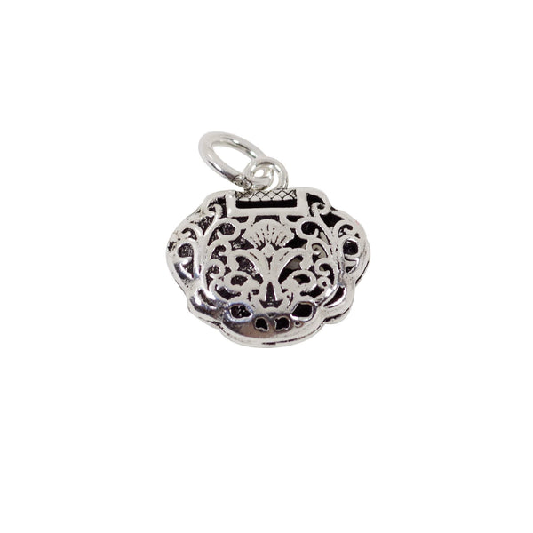 Vintage 925 Sterling Silver Charm with Close Jump Ring