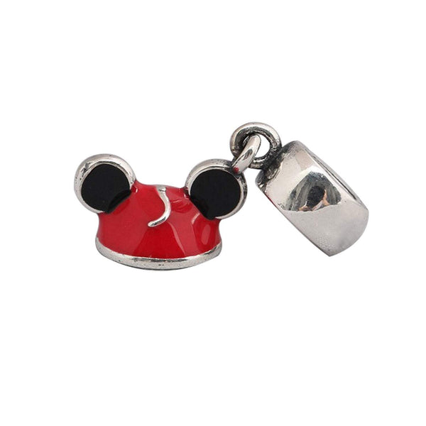 Authentic Pandora Charm Mickey Mouse Hat Bead